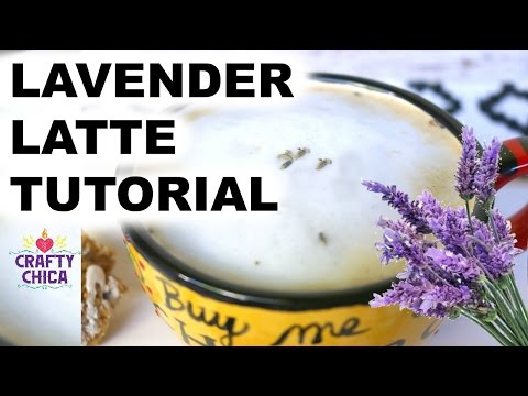 Lavender Latte Tutorial