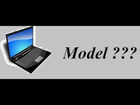 How to find model number of any laptop or computer EASILY