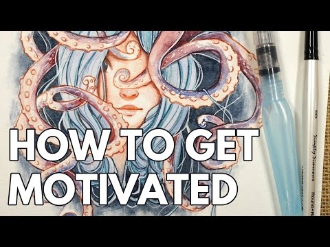 How to Get Motivated To Draw // Tips & Tricks!