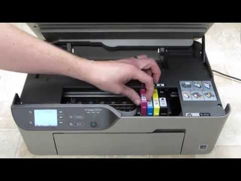 HP Deskjet 3070A - Change Ink Cartridges