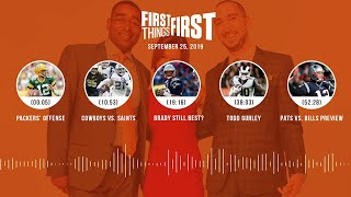 First Things First audio podcast (9.25.19)Cris Carter, Nick Wright, Jenna Wolfe | FIRST THINGS FIRST