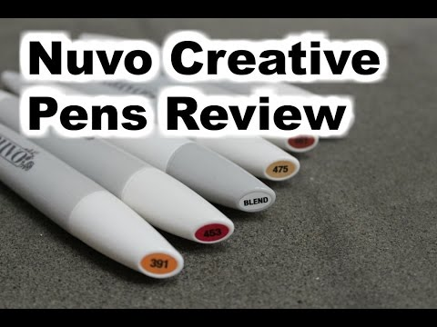 Nuvo Creative Pens (Alcohol Markers) from Tonic
