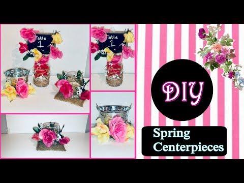 Diy Spring Centerpieces cheap & Easy