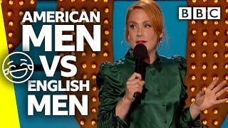 When Americans date the English... | Live At The Apollo - BBC