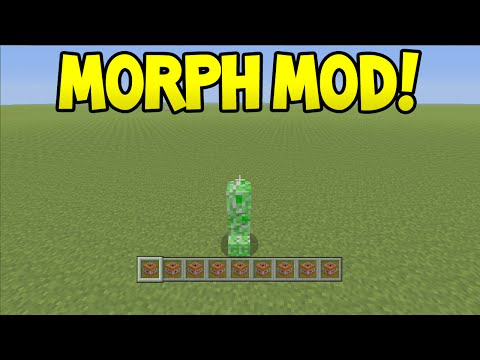 Minecraft (Xbox360/PS3) - MORPH MOD! (Turn Into Mob) - Showcase!
