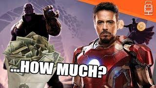 Avengers Infinity War INSANE Budget Revealed