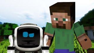 If Robots Were In Minecraft