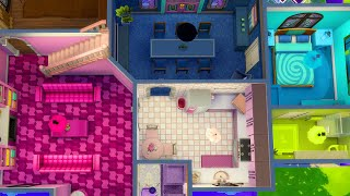 Building in The Sims But Each Room is a Different Color (Streamed 5/23/2020)