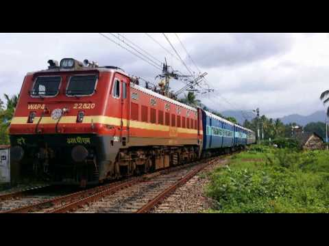 TRAIN SOUND EFFECTS  in India PART 3