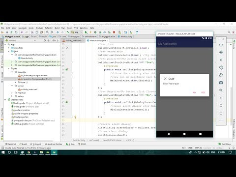 Alert Dialog - Android Studio Tutorial