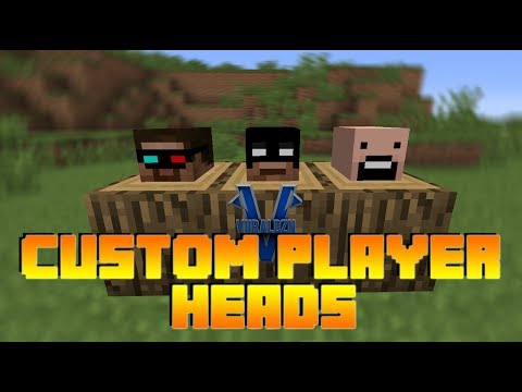 How to Get Custom Player Heads in Minecraft 1.8/1.7.9 (No Mods, Really Easy, Noob Friendly!)