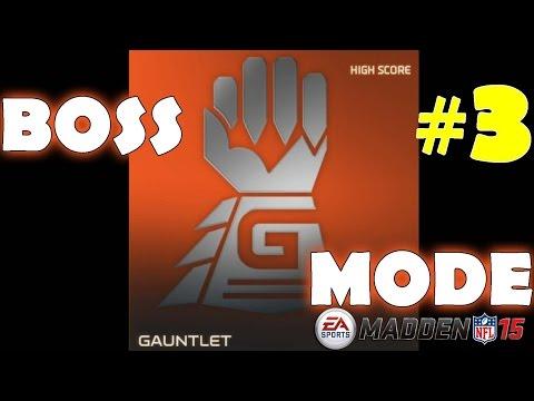 Gauntlet Boss #3 in Madden NFL 15