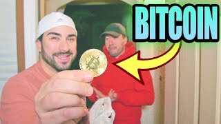 Tipping a $10,000 Bitcoin to Postmates Delivery Guy