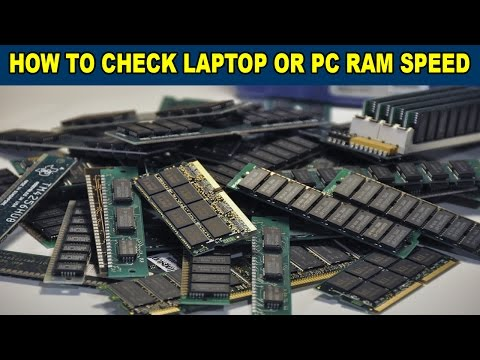 How To Check Laptop or PC RAM Speed In Mhz