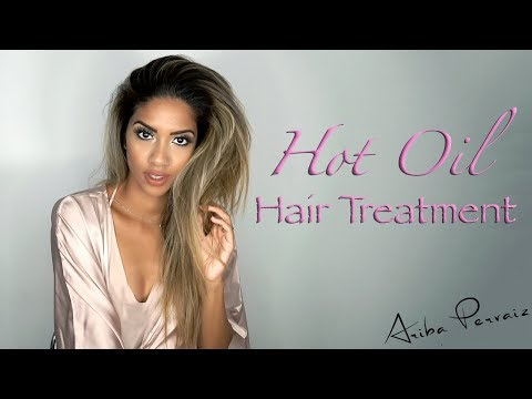 Hot Oil Hair Treatment | ARIBA PERVAIZ