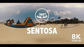 360º 8K VR Sentosa Beach Experience in Singapore