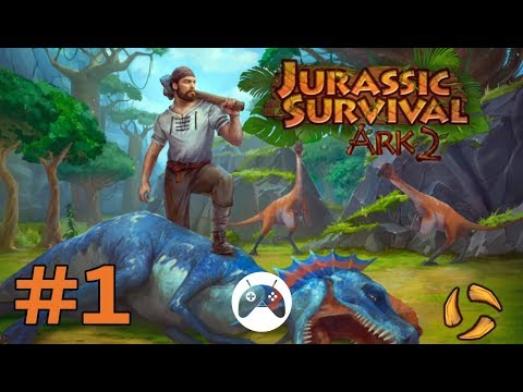 Let's play Jurassic Survival Island: ARK 2 Evolve #1 (Android Gameplay)