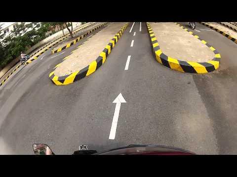 Vietnam - Motorcycle Driving License Test - Practical