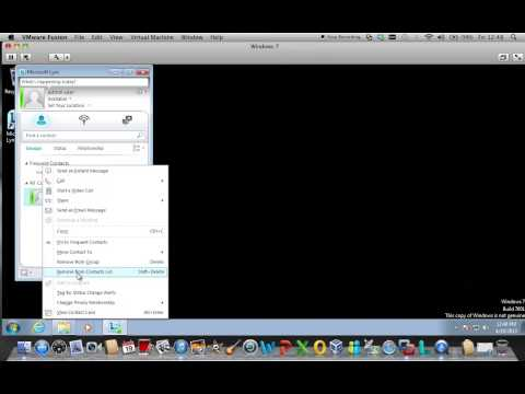 Microsoft Office 365 Lync 2010 Client features