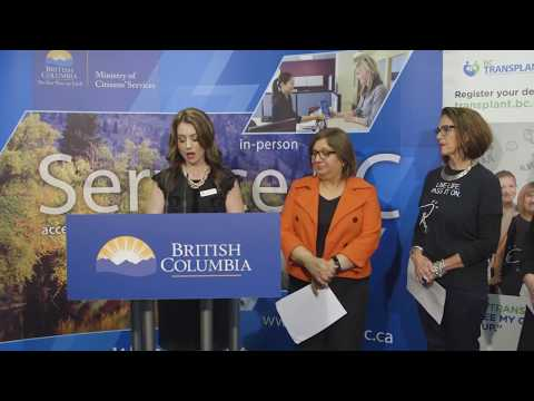 Organ donation in BC matters to families