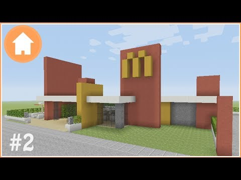 Minecraft Tutorial: How to Build a McDonald's in Minecraft #2