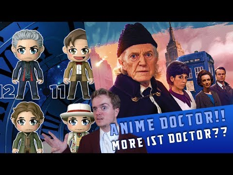 Doctor Who Goes Anime & More 1st Doctor | WhoNews