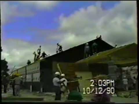 Quick build Kingdom Hall, Live Oak FL 1990