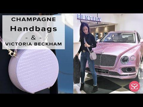 COME AND SHOP HANDBAGS + I MEET VICTORIA BECKHAM! | Sophie Shohet