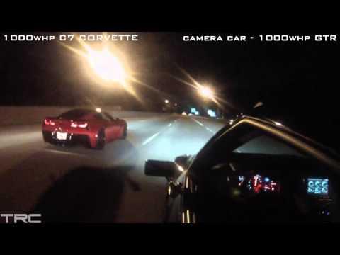 INSANE STREET RACING in Atlanta!