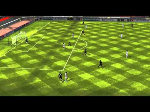 FIFA 14 Android - 11 DE FALCAO VS 11 DE MESSI