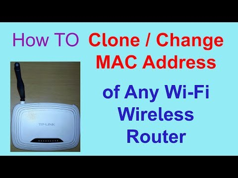 How to Change/Clone MAC Address of any Wi-Fi Router | Som Tips
