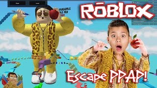 ROBLOX: PEN PINEAPPLE APPLE PEN!!! Escape PPAP Obby
