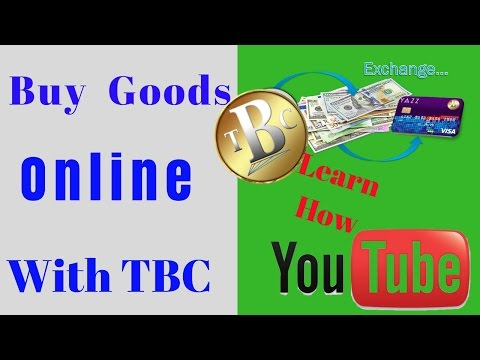 how to buy Products Online with TBC - Thebillioncoin - How to sell TBC - Tbc exchanger