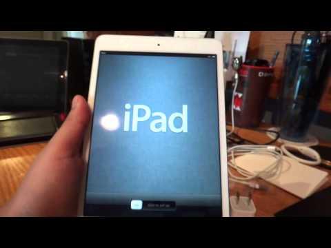 Apple iPad Mini: Setting Up