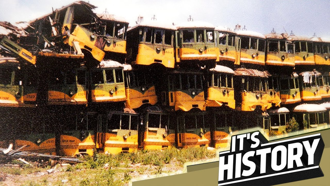 The Lost Street Cars of New York City | The Story of American trolleys  - IT'S HISTORY