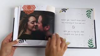 Personalized Love Book by Luhvee Books -Book Flip