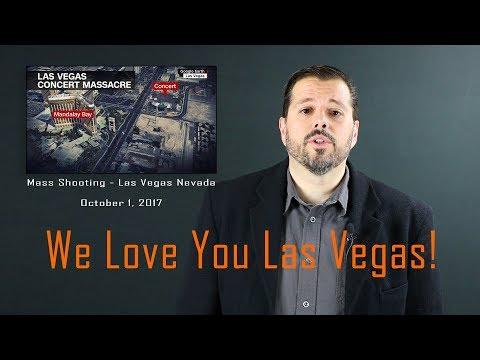 Reaction Video - Las Vegas Strip Shooting 1 Oct. 17 #VegasStrong