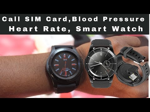 NO.1 Blood Pressure, Heart Rate Monitor, Call SIM Card Smart Watch - A Real Smart Watch