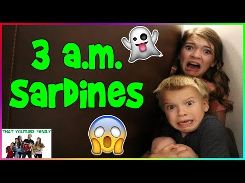 SARDINES At Night - Hide and Seek /That YouTub3 Family