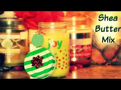💋  DIY Shea Butter Mix (Smells like heaven)