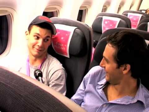 Pink Flight - Gay New Zealand Flight to Sydney, Australia