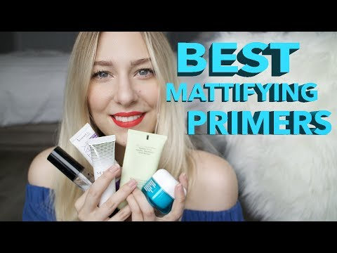 BEST PRIMERS FOR OILY SKIN | MATTIFYING PRIMERS