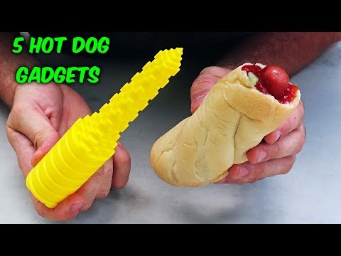 Xxx Mp4 5 Hot Dog Gadgets Put To The Test Part 3 3gp Sex