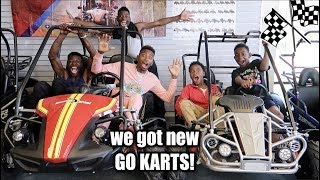 I BOUGHT GO KARTS FOR THE KIDS & READ FAN MAIL!!