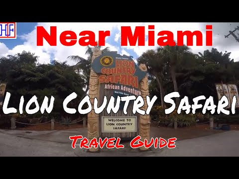 Near Miami | Lion Country Safari | Travel Guide | Episode# 10