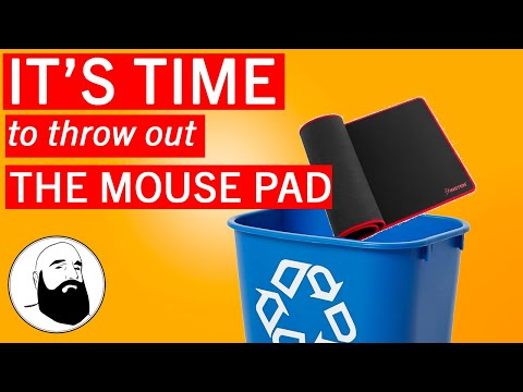 Invisible Mouse Pad DIY