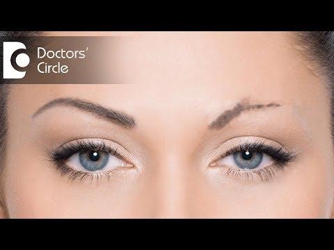 Ways to grow back eyebrows - Dr. Rajdeep Mysore