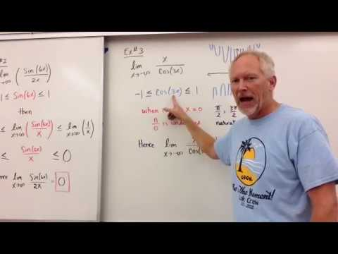 Limits at Infinity (Sine and Cosine Functions)