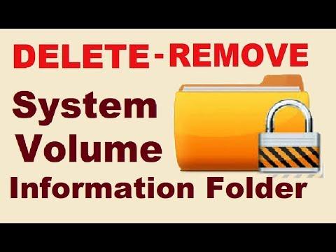 How to Delete System Volume Information Folder Virus 2017 [SOLVED]