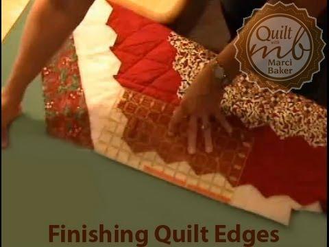 Finishing Quilt Edges, Marci Baker of Alicia's Attic